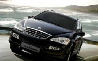 Ssangyong kyron технические характеристики двигателей