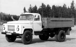 ГАЗ 53 подробно о расходе топлива
