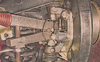 Замена шаровых опор подвески автомобилей ВАЗ 2105, 2107