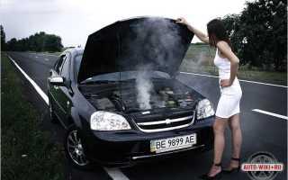 Что может послужить причиной перегрева двигателя