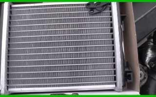 Как на ВАЗ 2107 заменить радиатор печки