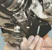 Замена шаровых опор (стук в подвеске) — logbook KIA Spectra on DRIVE2