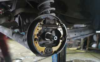 Восстановление тормозной системы Nissan Almera Classic: смена барабанов и замена задних колодок Ниссан Альмера Классик на СТО