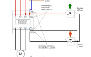 Электрические схемы защиты синхронных двигателей