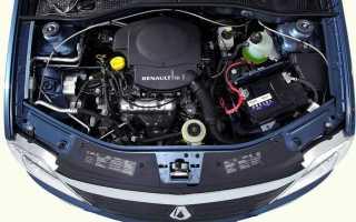 Двигатель Рено Логан 1