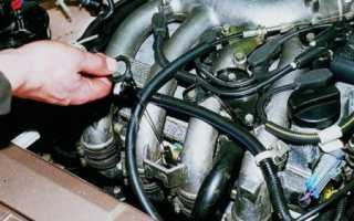 В двигателе стук расход масла больше