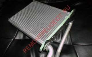 Как заменить радиатор печки Пежо 308, 408