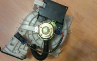 Быстро и качественно на ВАЗ 2110 заменить вентилятор печки