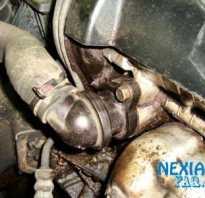 Замена термостата дэу нексия 16 клапанов