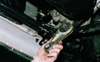 Что можно поставить вместо опоры двигателя