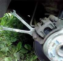 Замена задних тормозных колодок на Kia Ceed
