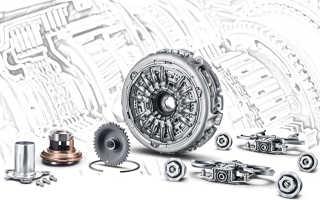 Замена сцепления Powershift Форд Фиеста