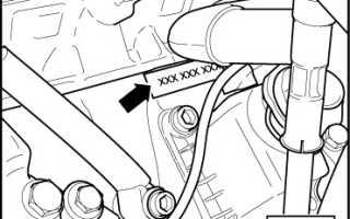 Что означают цифры на блоке двигателя