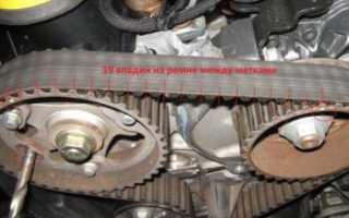 Замена ремня ГРМ и помпы на дизельном двигателе 1