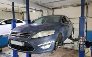 Ремонт рулевой рейки на Форд мондео