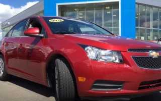Chevrolet cruze как определить двигатель