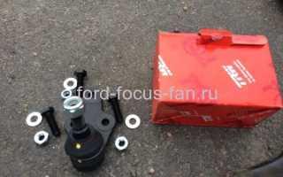 Как заменить рычаги и шаровые опоры ГРМ Ford Focus