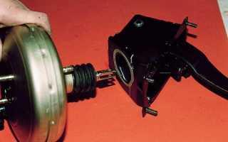 Замена вакуумного усилителя и главного тормозного цилиндра ВАЗ 2110 своими руками