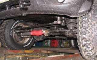 Особенности рулевого демпфера на УАЗ Патриот