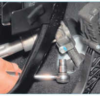 Рулевая рейка Ford Focus II гидравлическая, датчик угла поворота