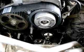 Замена ремня ГРМ и помпы на дизельном двигателе K9K