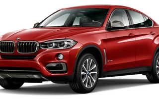Расход топлива BMW X6