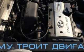 Акцент хендай двигатель работает не ровно