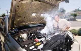 Что может быть калина греется двигатель