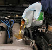 Чем мыть картер двигателя