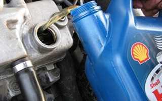 Как заменить моторное масло в двигателе Лады Гранты