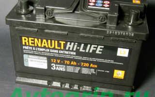 Аккумулятор на Рено Логан: характеристики и какой лучше поставить