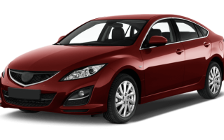 Замена стекла Mazda 6