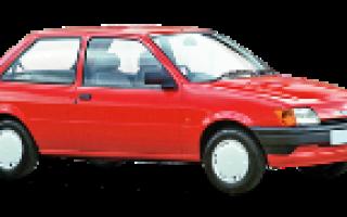 Не заводится двигатель FORD FIESTA 1989-1995