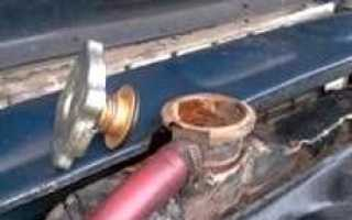 Замена охлаждающей жидкости (тосола или антифриза) в автомобилях ВАЗ-2101/ ВАЗ-2107