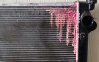 Как самостоятельно устранить течь радиатора