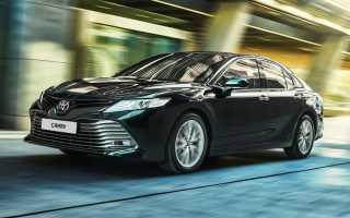 Новая Toyota Camry: цены в России