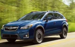 Двигатели Subaru XV