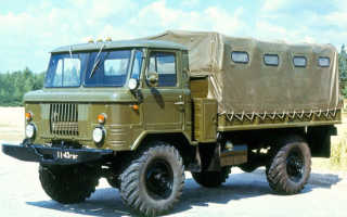 Легендарная «Шишига»: ГАЗ-66