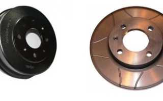 Тормозные диски на ВАЗ 2114