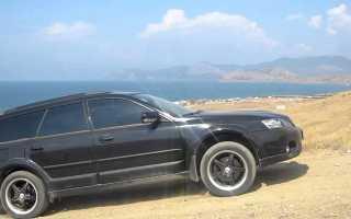 Фактические показатели расхода горючего Subaru Outback на 100 км пути