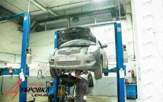 Чем промыть двигатель тойота авенсис