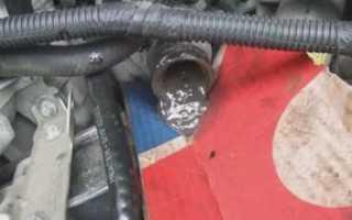Как промыть систему охлаждения двигателя ВАЗ-2110