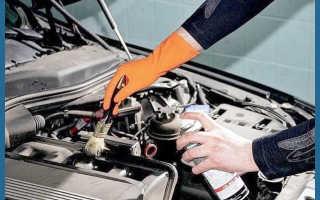 Чем мыть двигатель автомашины