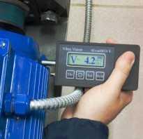 Чем измерить вибрацию двигателя