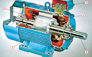 Асинхронный двигатель с самозапиткой своими руками