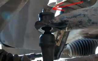 Как сделать замену стоек и втулок стабилизатора Ford Focus