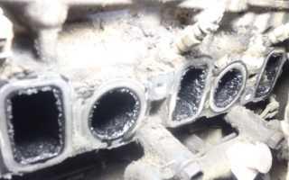 Чем очистить коллектор дизельного двигателя