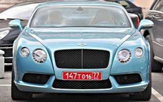 Что значат красные номера на машине в России