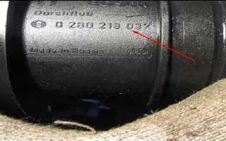 Проверка ДМРВ ВАЗ 2110, 2111, 2112