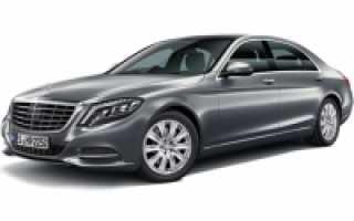 Расход топлива Mercedes-Benz S-Class седан 4 дв